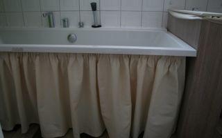 Как сделать шторку для ванной своими руками
