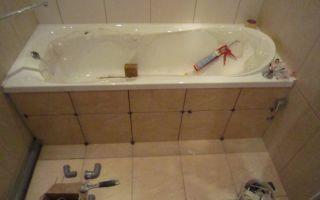 Как выполнить ремонт ванны своими руками