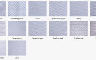 Виды и сорта стеклообоев под покраску, основные критерии отличия