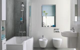 Сантехника для ванной комнаты: фото основных видов