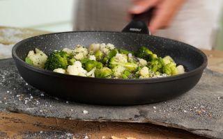 Экологически чистая сковорода с каменным покрытием
