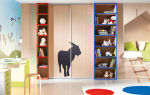 Шкаф в детскую комнату – какой выбрать? 100 фото красивых моделей в интерьере детской.