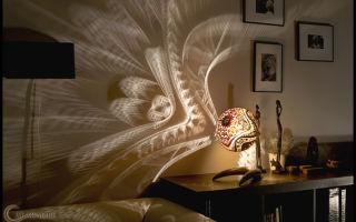 Бра – художественное украшение комнаты