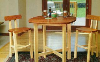 Качественные столы и стулья своими руками