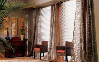 Портьерные шторы: подчеркиваем преимущества дизайна