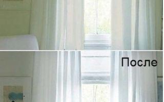 Мы расскажем только действенные способы отбеливания штор из тюля в домашних условиях