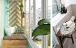 Летний красочный дизайн маленького балкона (4 кв. м.)