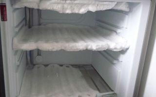 Основные причины, почему холодильник сильно морозит