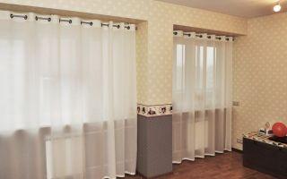 Выбрать штору и тюль для зала— абсолютно легко!