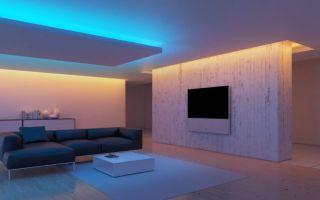 Подсветка светодиодными лентами