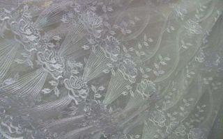 Как отбелить тюль в домашних условиях из капрона и органзы