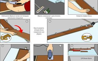 Особенности укладки ламината на бетонный пол