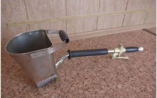 Как использовать ковш для штукатурки, технология изготовления своими руками