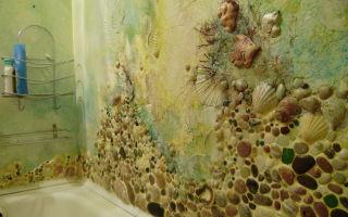 Декоративная штукатурка для ванной комнаты своими руками