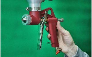 Как выбрать покрасочный пистолет. преимущества краскопульта