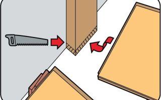 Как класть ламинат возле дверей: нюансы (видео)
