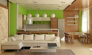 Как грамотно и гармонично выполнить соединение кухни с гостиной?
