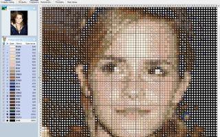 Как сделать схему для вышивки крестом с фотографии: скачать бесплатно фото, как создать или составить, превращение