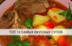 Супы — вкусно и просто
