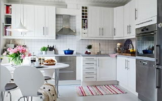 Кухня в скандинавском стиле – особенности стиля, фото