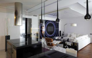 Фантастическая гостиная в стиле хай тек своими руками