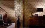 Обои компаньоны в интерьере зала – как сочетать (48 фото)