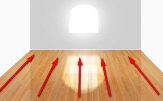 Направление укладки ламината в комнате: полезные советы