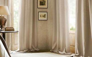 Шторы для гостиной своими руками: тонкости пошива