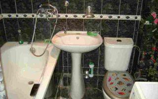 Как и куда поставить унитаз в ванной комнате