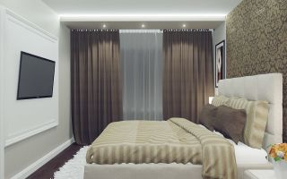 Декор спальни в хрущевке: общие рекомендации (фото)