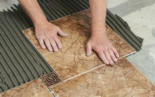 Керамогранит на пол: укладка своими руками на стену, как класть плитку деревянную, технология теплая и видео