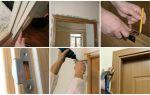Процесс установки дверей мдф своими руками