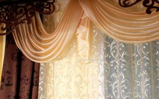 Декор штор своими руками придаст эксклюзивность вашему интерьеру