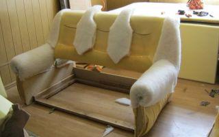 Подлокотники для дивана: изготовление своими руками