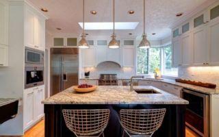 Освещение на кухне: нюансы выбора и дизайнерские идеи | +56 фото