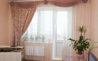 Узнайте, как выбрать шторы для зала с балконом: не забудьте про люверсы