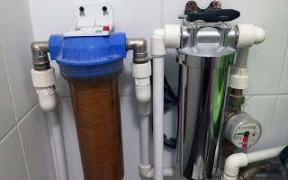 Проточный и магистральный виды фильтров для очистки воды в доме