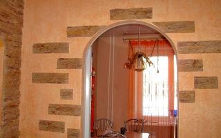 Специфика создания и оформления арки на кухню