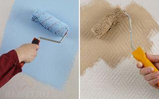 Какой краской красить стеклообои: моющиеся латексные и акриловые варианты