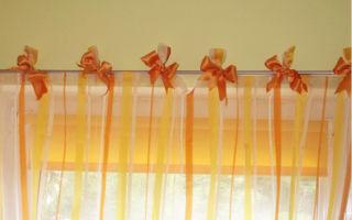 Оранжевые шторы: советы по выбору и применению