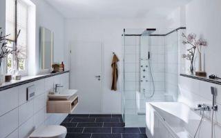 Белая ванная комната – особенности дизайна