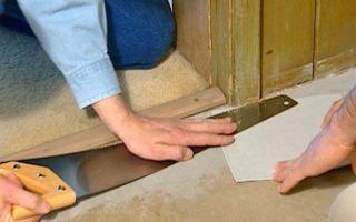 Укладка линолеума: своими руками пошаговая инструкция, как укладывать и уложить, монтаж и замена, настилку стелим