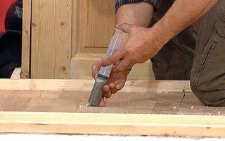 Как можно избавиться от скрипа деревянного пола?