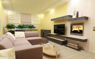 Варианты оформления гостиной с камином