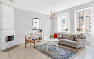 Шведский стиль в интерьере: пастельные тона карла ларсона (+34 фото)