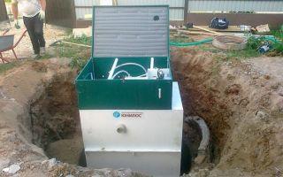 Автономная канализация юнилос: принцип работы, монтаж