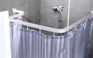 Шторки для ванной: виды, выбор, установка
