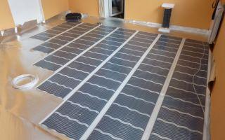 Подложка под теплый пол: пошаговая инструкция по устройству