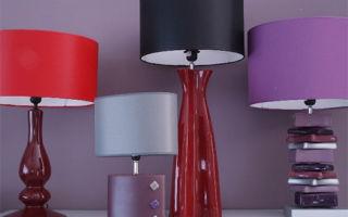 Настольные лампы: от классики до хай-тека