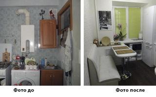 Особенности ремонта кухни в хрущевке